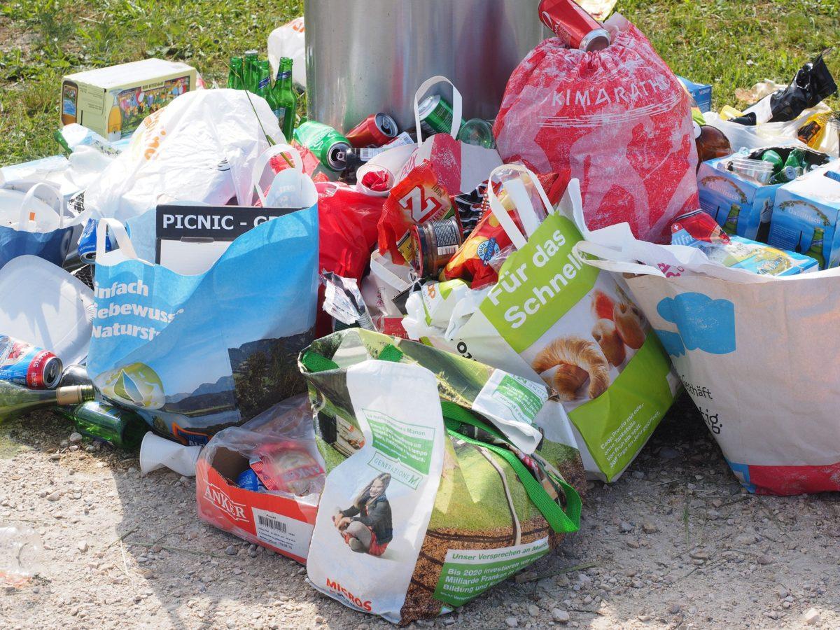 Sanzioni per l'abbandono di rifiuti di qualsiasi dimensione