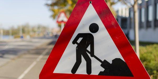 Lavori stradali in corso Bernacchi (rifacimento rete gas)