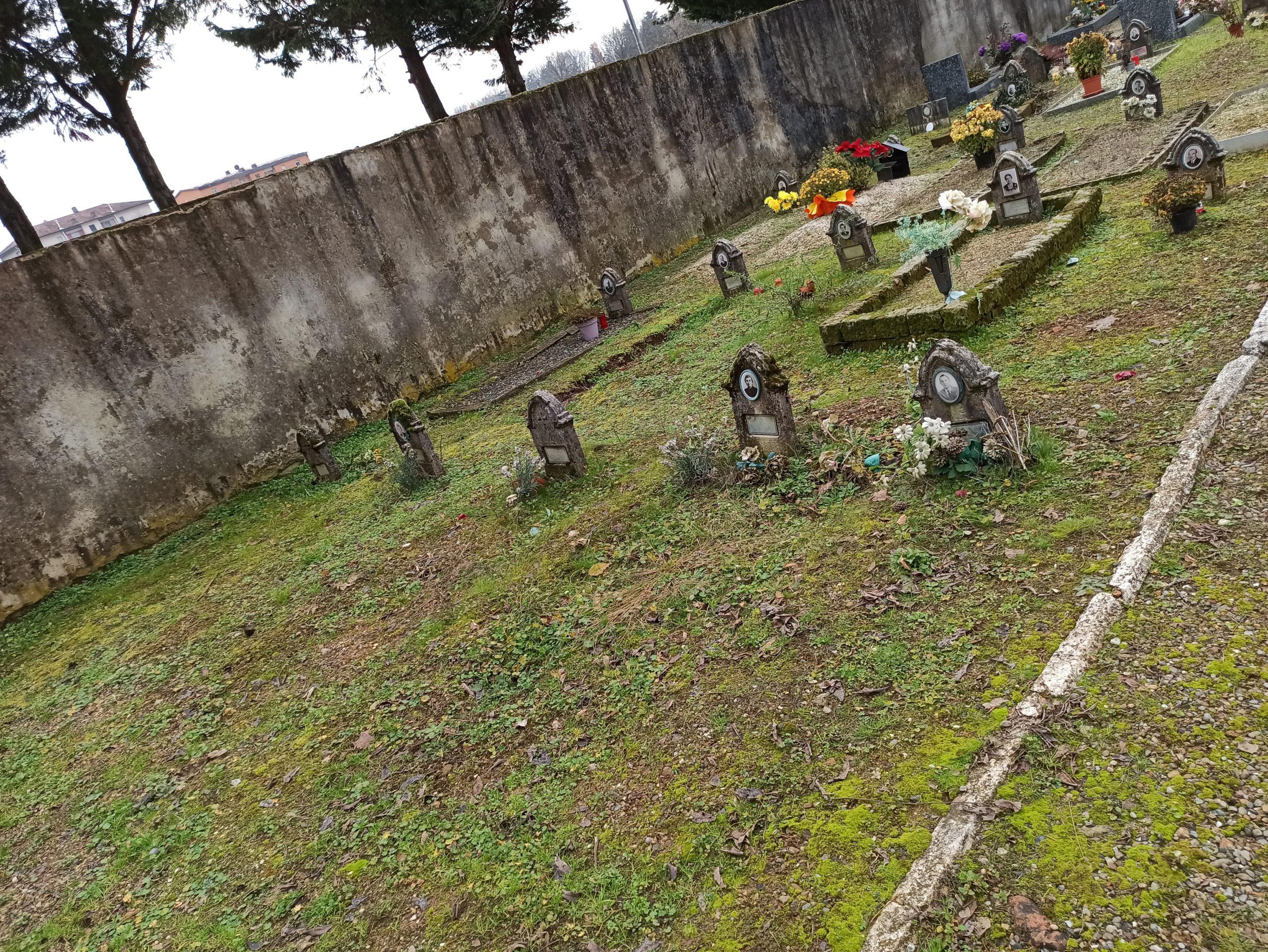 Avviso esumazioni ordinarie Cimitero di Tradate
