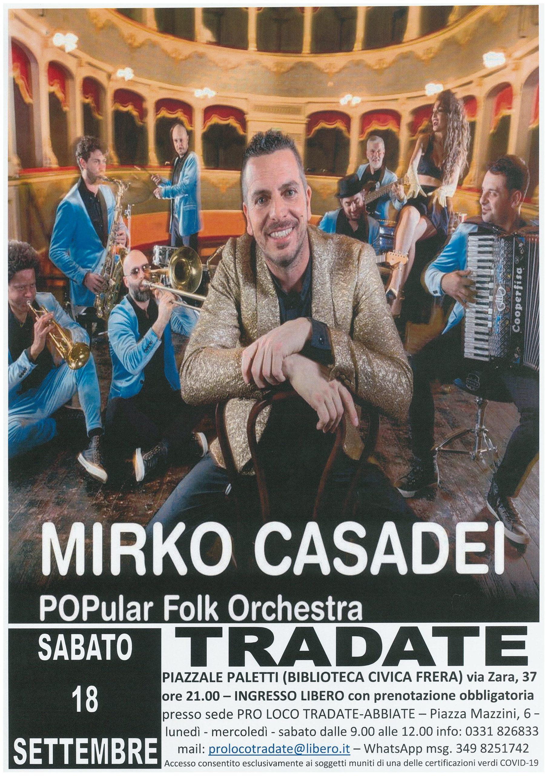 Concerto Mirko Casadei