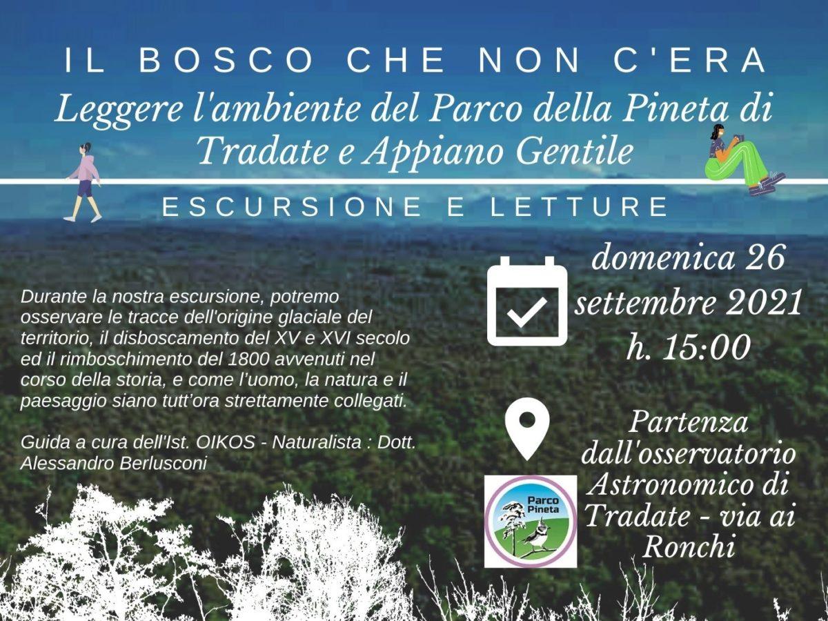 Il bosco che non c'era. Leggere l'ambiente del parco Pineta di Tradate Appiano